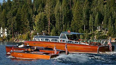Photograph - Tahoe Classics by Steven Lapkin