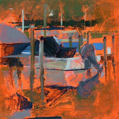 Warm Painting - Rcnpaintings.com by Chris N Rohrbach