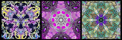 Digital Art - 356 Infinity Vi by Derek Gedney