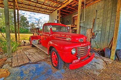 Art Print featuring the photograph 3561-7-201 by Lewis Mann