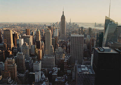 Photograph - 35mm Skyline by Richard Cline