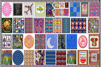 Zodiac Symbols Mixed Media - 36 In 1 Best Of Google Search Collage Of Navinjoshi Graphic Arts Suitable For Large Format Printing by Navin Joshi