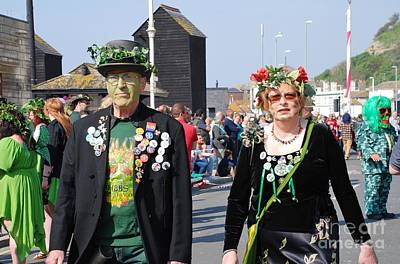 Photograph - Jack In The Green Festival Hastings by David Fowler