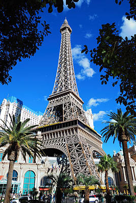 Paris Skyline Royalty-Free and Rights-Managed Images - Las Vegas Nevada. by Songquan Deng