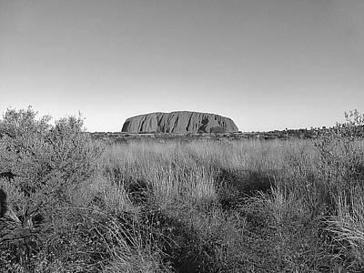 Wall Hanging Photograph - Uluru by Girish J