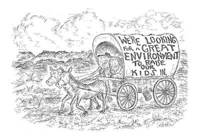New Yorker March 17th, 2008 Art Print by Edward Koren