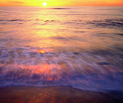 Abstract Beach Landscape Photograph - Usa, California, San Diego by Jaynes Gallery