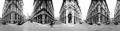 Montreal Buildings Photograph - 360 Degree View Of A City, Montreal by Panoramic Images