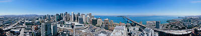 Rincon Photograph - 360 Degree View Of A City, Rincon Hill by Panoramic Images