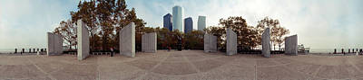 Battery Park Photograph - 360 Degree View Of A War Memorial, East by Panoramic Images
