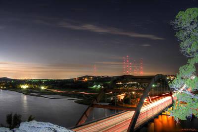 Light Paint Photograph - 360 Sunrise by Andrew Nourse