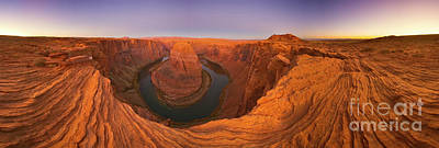 Photograph - 360 Of Colorado River At Horseshoe Bend by Yva Momatiuk and John Eastcott