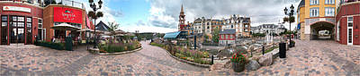 360 View Panorama, Mont-tremblant Art Print by Henry Lin