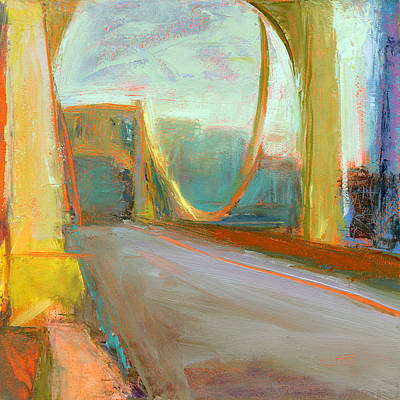 Bridge Painting - Rcnpaintings.com by Chris N Rohrbach