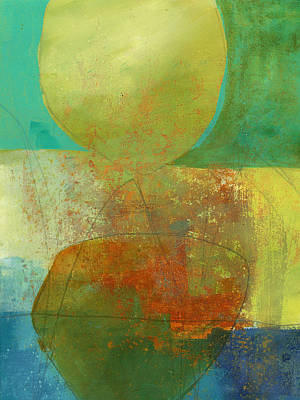 Abstracted Painting - 37/100 by Jane Davies