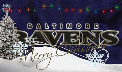Baltimore Photograph - Baltimore Ravens by Joe Hamilton