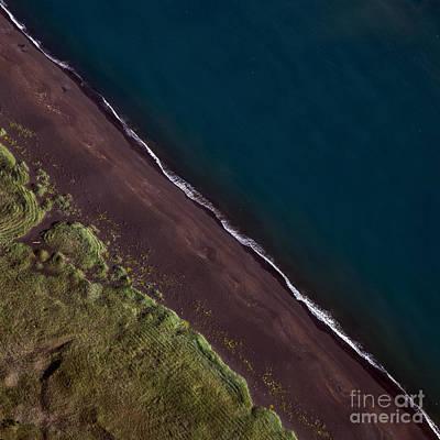 Colors Photograph - Iceland Aerial Photo by Gunnar Orn Arnason