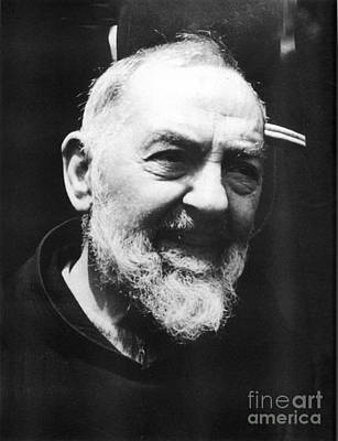 Confession Photograph - Padre Pio by Archangelus Gallery