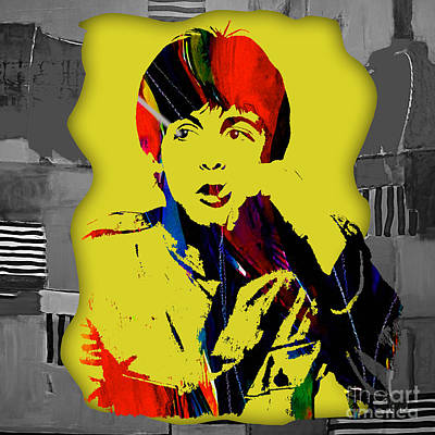 Paul Mixed Media - Paul Mccartney Collection by Marvin Blaine
