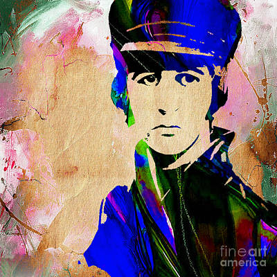 Ringo Mixed Media - Ringo Starr Collection by Marvin Blaine