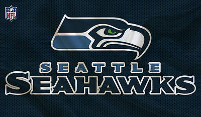 Seattle Seahawks Art Print by Joe Hamilton
