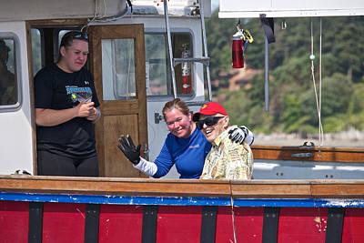 Whidbey Island Race Week Photograph - Whidbey Island Race Week by Steven Lapkin