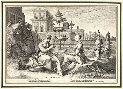 Anonymous After Hendrick Goltzius Dutch Art Print by Litz Collection