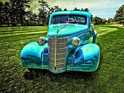 38 Chevrolet Classic Automobile Art Print