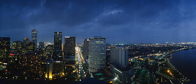 Louisiana Photograph - High Angle View Of Buildings In A City by Panoramic Images