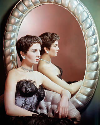 Jean Simmons Art Print by Silver Screen