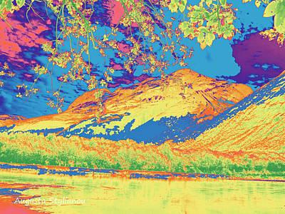 Digital Art - Norway  Landscape by Augusta Stylianou