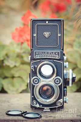 Aperture Photograph - Old Vintage Camera by Sabino Parente