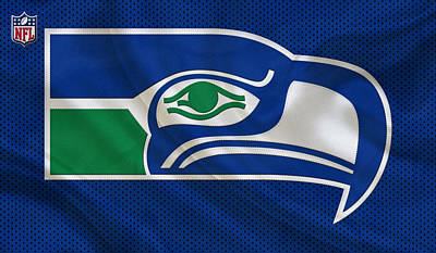 New Goals Photograph - Seattle Seahawks by Joe Hamilton
