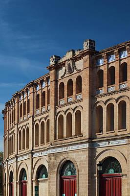 Toro Photograph - Spain, Andalucia Region, Cadiz by Walter Bibikow