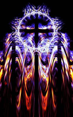 Cross Digital Art Digital Art - Untitled  by Adam Vance