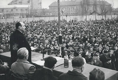 Bela Photograph - Hungary's Minister Bela Biszku by Retro Images Archive