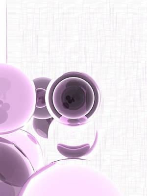 Purple Digital Art - 3840x5120.1.16 by Gareth Lewis