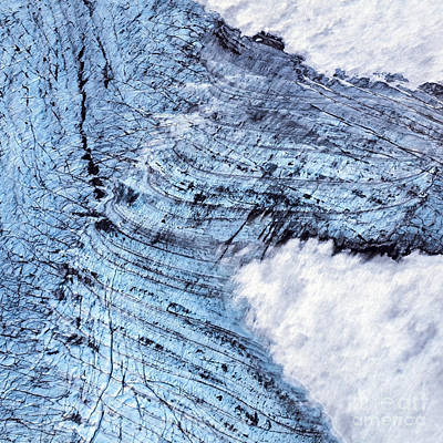 Photograph - Aerial Photo by Gunnar Orn Arnason