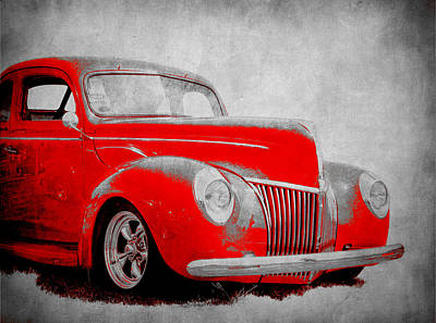 Photograph - 39 Ford by Steve McKinzie