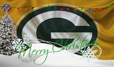 Green Bay Packers Art Print by Joe Hamilton