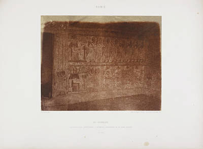 Abolitionism Photograph - Photograph Of The Egyptian Landscape by British Library