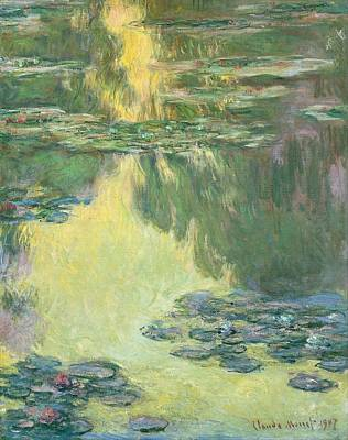 Water Lilies  Art Print by Claude Monet
