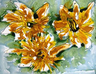Bath Time Rights Managed Images - Heavenly Flowers Royalty-Free Image by Baljit Chadha
