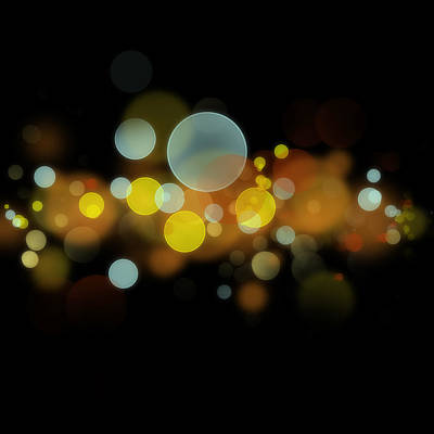 Illumination Digital Art - Abstract Background by Les Cunliffe