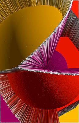 3d Abstract 5 Art Print