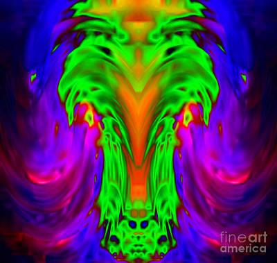 Bison Digital Art - 3d Bison by De Wunder