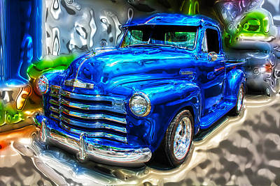 Photograph - Chevy Pickup by Carlos Diaz