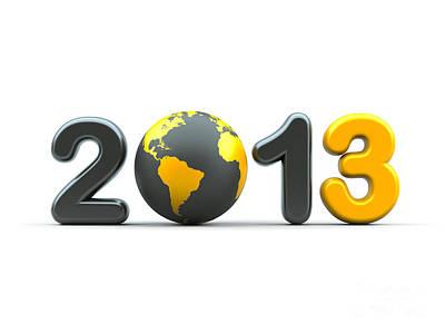 3d New Year 2013 Original