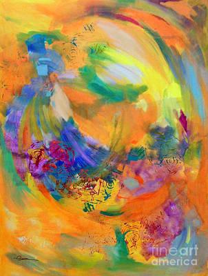 Chakra Painting - 3rd Chakra - Solar Plexus by Madalyn Kennedy