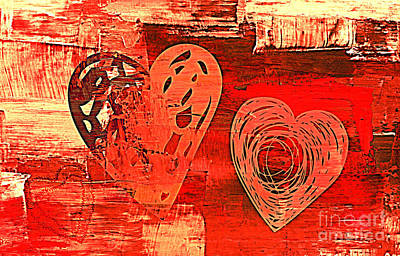 Photograph - 3vl Red Valentine by Mindy Bench